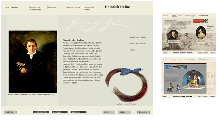 stephanie von ow - multimedia stories jmb, heinrich heine